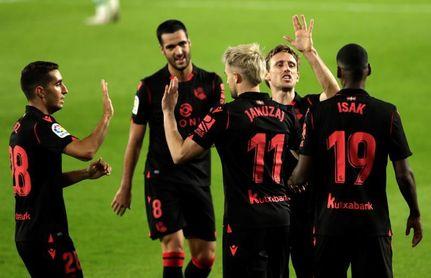 La Real Sociedad, sexto líder en seis jornadas