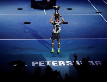 Rublev gana el Abierto de San Petersburgo, su cuarto título del año