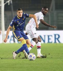 El colombiano Cristian Zapata juega 90 minutos en el 0-0 del Génova en Verona