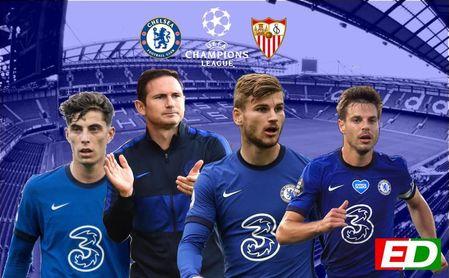 El nuevo y ambicioso Chelsea será la primera prueba del Sevilla en Champions
