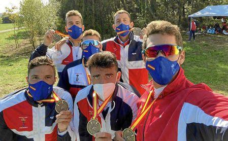 Medallistas del Real Círculo de Labradores.
