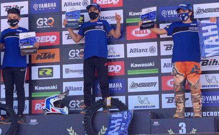 Grandes actuaciones de los representantes del equipo Yamaha E. Castro.