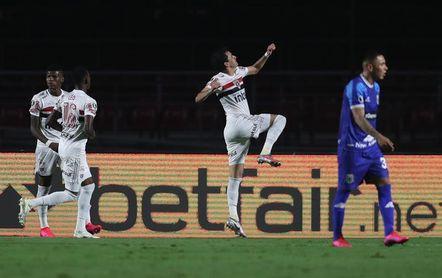 5-1. El Sao Paulo vapulea al Binacional en su despedida de la Libertadores