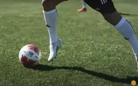 Captura del vídeo de Fútbol Emotion.