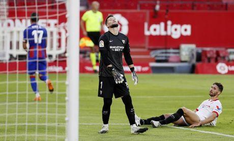 0-1. El Eibar sorprende a un espeso Sevilla