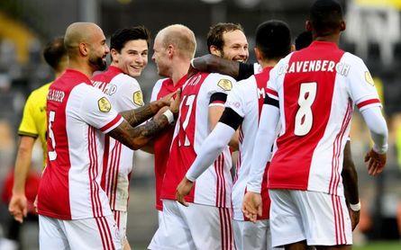 El Ajax hace historia con un 0-13 al Venlo y repóker de Traoré