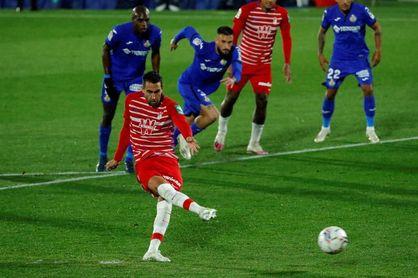 0-1. El Granada, colíder tras la pelea