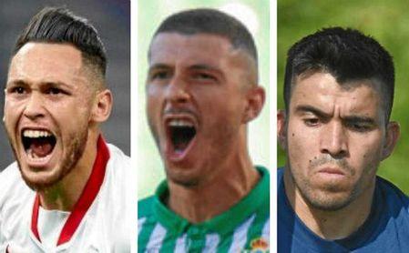 Ocampos, Guido y Acuña, fijos para Scaloni