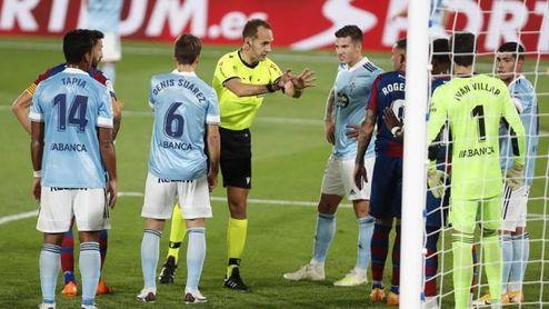 Levante 1-1 Celta: Plasman su mal momento con polémica de VAR incluida