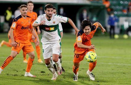 El Valencia firma su segundo peor arranque liguero del siglo