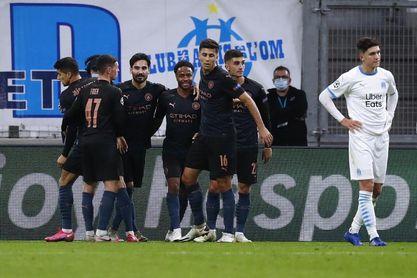 0-3. El City destroza al Marsella