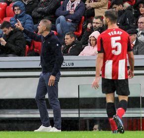 """Yeray: """"Quizás no es el juego más bonito, pero queremos ganar con Garitano"""""""