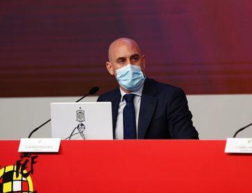 """Rubiales: """"La UEFA ha construido la mejor competición de clubes del mundo"""""""
