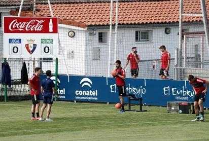 Osasuna se recupera con la mente puesta ya en el Atlético de Madrid