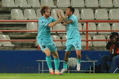0-5. El brasileño Sanvezzo anota un triplete en la goleada del Mazatlán al San Luis