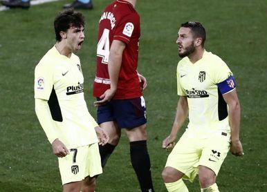 1-3. Joao Félix mantiene la buena racha del Atlético