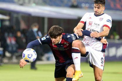 Giovanni Simeone presiona a Ibrahimovic como máximo goleador de la Serie A