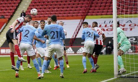 Victora por la mínima de City ante Sheffield