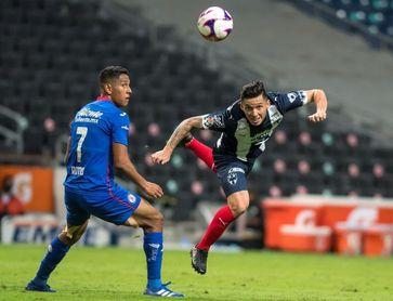 1-0. Monterrey vence al Cruz Azul con gol del argentino Funes Mori