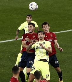 Budimir, cinco toques y primer gol con Osasuna