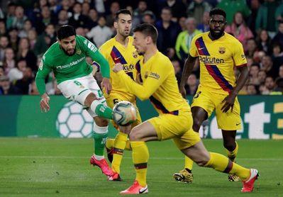 El Betis ya mira al Barcelona
