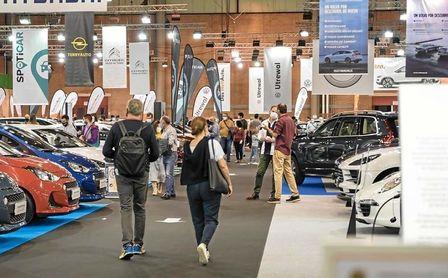El Salón del Motor de Ocasión de Sevilla registra un buen volumen de ventas.