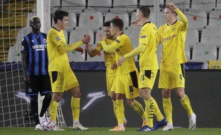 0-3. Haaland eleva al Dortmund al liderato de su grupo