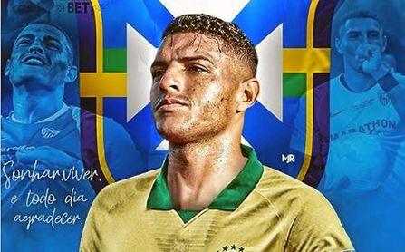 La llamada de Brasil revive el interés de Diego Carlos en Italia