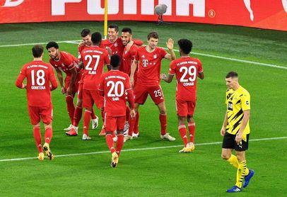 2-3. Lewandowski comanda el triunfo del Bayern, que es más líder