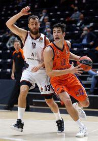 86-81. Van Rossom conduce al Valencia Basket