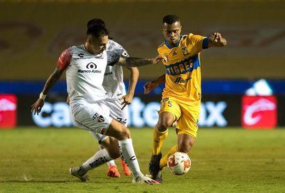 1-1. El argentino Conti rescata empate del Atlas sobre los Tigres UANL