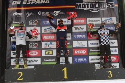 Daniela Guillén gana con un doblete la última prueba del Nacional de 85cc