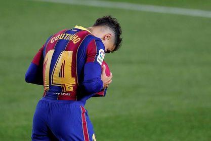 Coutinho acelera en su recuperación pensando en el Atlético
