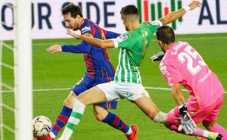 El Betis, junto a Messi, nominado a los premios del World Football Summit