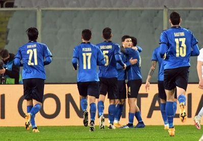 4-0. Grifo, Bernadeschi y Orsolini dirigen a la unidad B de Italia