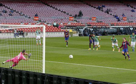 El Betis, con el segundo peor balance en penaltis de la historia de LaLiga