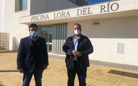 Se licita la última fase de las obras de la Piscina Cubierta de Lora del Río
