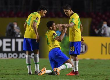 Brasil se entrena suave tras el triunfo ante Venezuela y ya piensa en Uruguay
