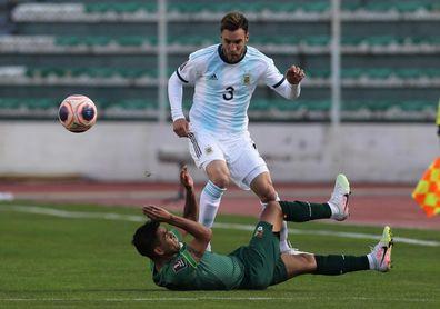 Argentina espera por Tagliafico para definir el equipo frente a Perú