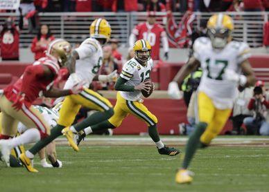 24-20. Rodgers dirige el ataque y la victoria de los Packers
