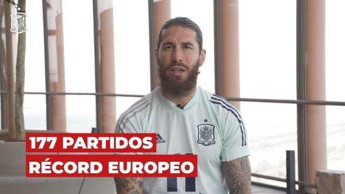 """Ramos: """"Seguiré en la selección hasta que el físico y mi cabeza aguanten"""""""