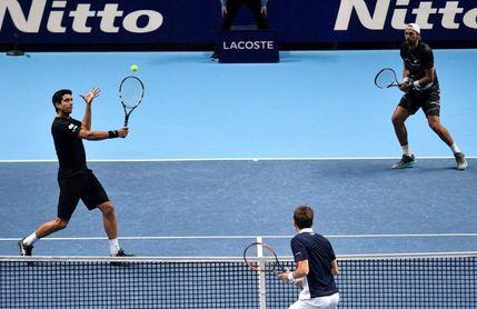 El brasileño Melo pierde el segundo partido en las Finales ATP