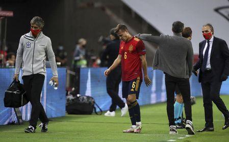 Canales se lesiona con España y no estaría en San Mamés