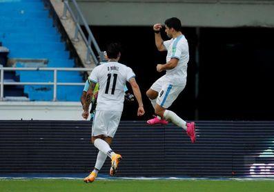 Suárez, positivo por covid-19, es baja ante Brasil y contra Barcelona