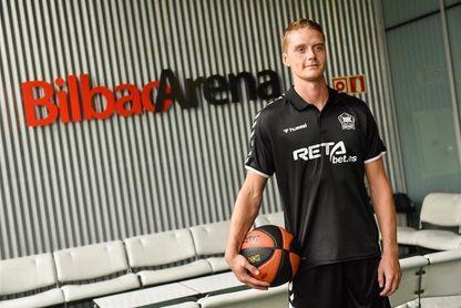 El jugador del Bilbao Basket que ha dado positivo por COVID-19 es Hakanson