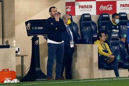 """Sergio: """"Ha costado obtener la victoria y lo lógico es que se repita equipo"""""""