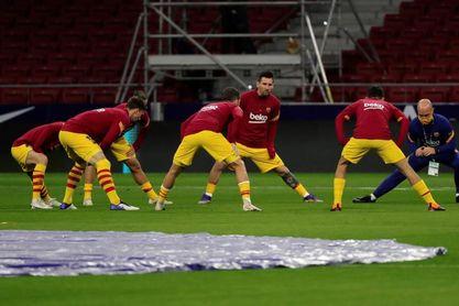 Costa, suplente en el Atlético; Pedri, titular en el Barcelona