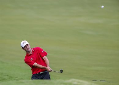 El estadounidense Robert Streb consolida el liderato en el RSM Classic de golf