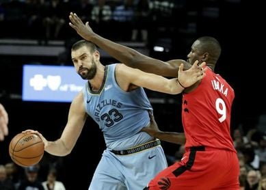 Ibaka, cerca de firmar con Clippers, y Marc Gasol podría seguir con Toronto