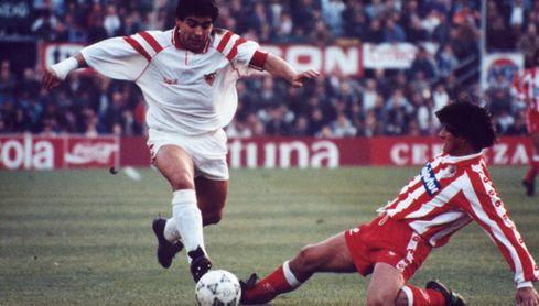 Pineda, Prieto, Unzué, Martagón y sus anécdotas con Maradona en el Sevilla FC